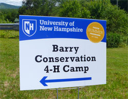Barry Camp Sign